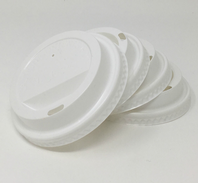White Budget Cup Lids